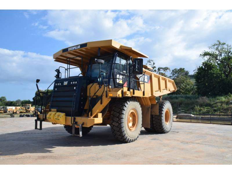 CATERPILLAR 鉱業用ダンプ・トラック 773 G equipment  photo 1
