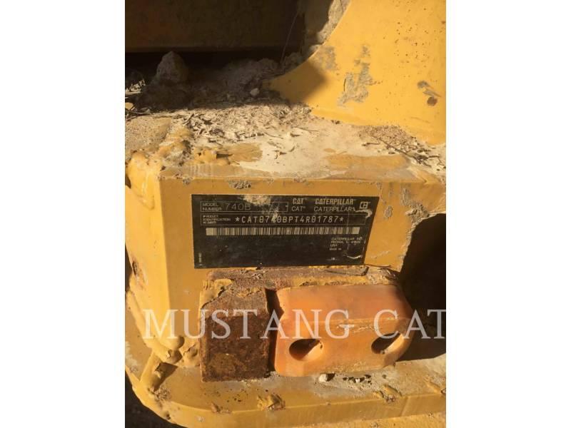 CATERPILLAR TOMBEREAUX ARTICULÉS 740B equipment  photo 5