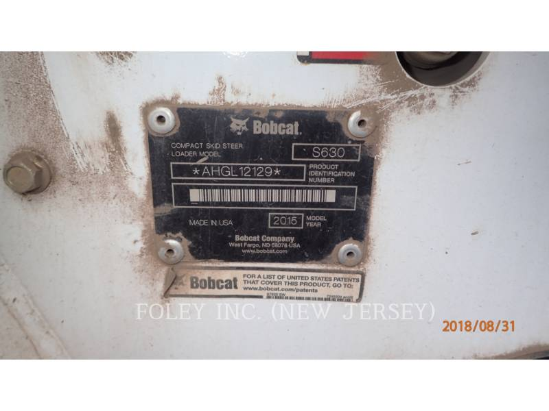 BOBCAT 滑移转向装载机 S630 equipment  photo 8