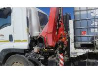 ISUZU CAMIONS ROUTIERS 850 WITH FASSI CRANE F150 equipment  photo 10