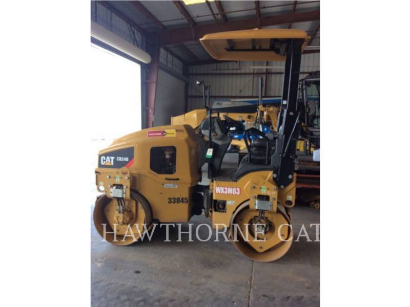 CATERPILLAR WT - COMPACTOR CB24B equipment  photo 1