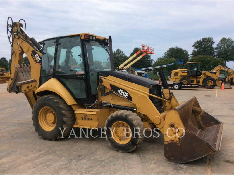 CATERPILLAR BACKHOE LOADERS 420E 4X4A equipment  photo 1