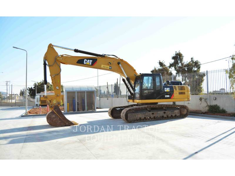 CATERPILLAR MINING SHOVEL / EXCAVATOR 329D2L equipment  photo 1