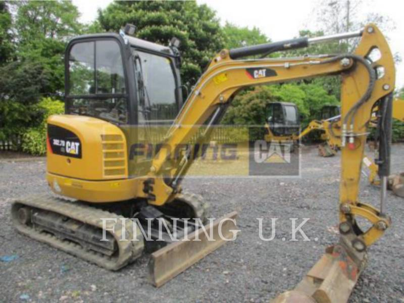 CATERPILLAR EXCAVADORAS DE CADENAS 302.7D CAB equipment  photo 1