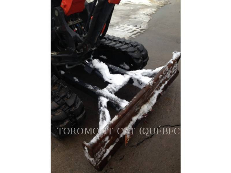 KUBOTA CORPORATION PELLES SUR CHAINES KX040-4 equipment  photo 12