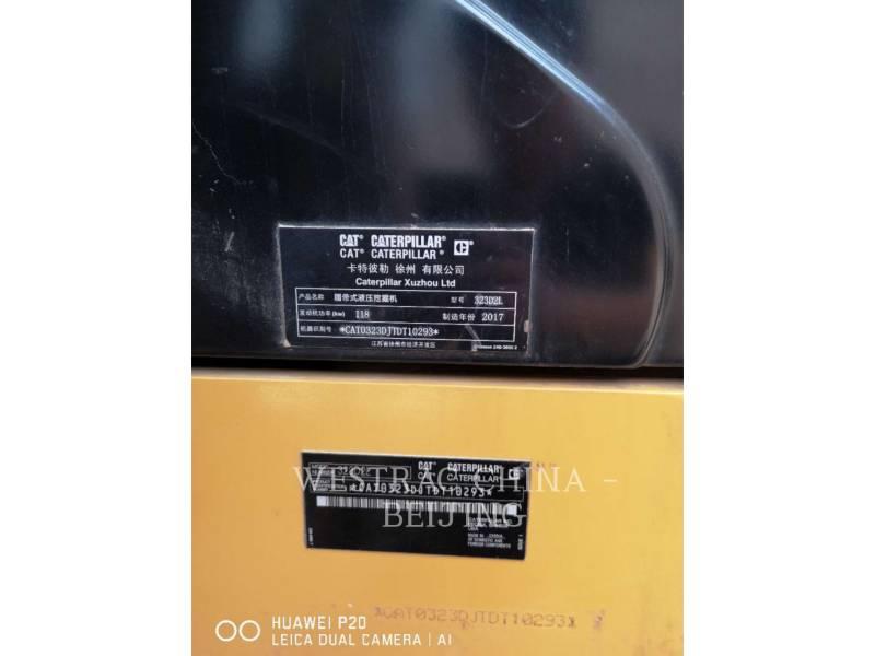 CATERPILLAR KETTEN-HYDRAULIKBAGGER 323D2L equipment  photo 2