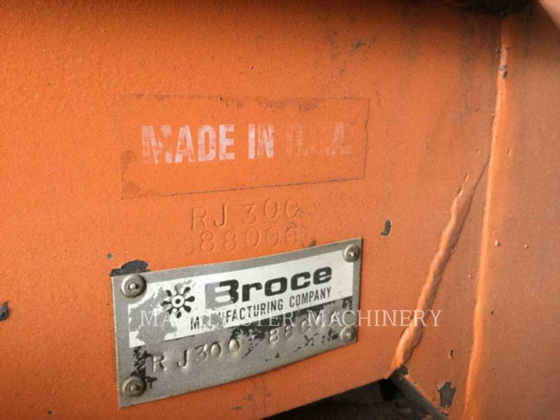 BROCE BROOM  BROOM RJ300 equipment  photo 6