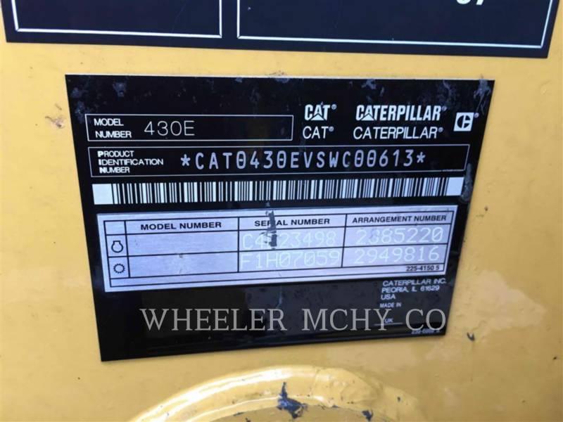 CATERPILLAR RETROEXCAVADORAS CARGADORAS 430E E equipment  photo 9