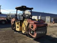 Equipment photo DYNAPAC CC234HF VIBRATORY DOUBLE DRUM ASPHALT 1