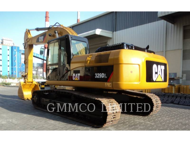 CATERPILLAR TRACK EXCAVATORS 329D equipment  photo 9