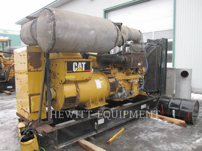 CATERPILLAR STATIONARY GENERATOR SETS C15, 454KW PRIME 480V equipment  photo 3