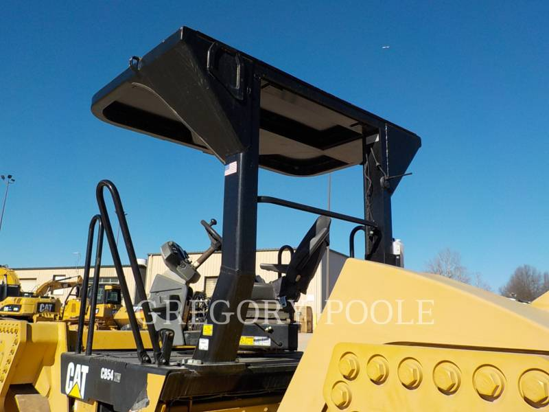 CATERPILLAR TANDEMOWY WALEC WIBRACYJNY DO ASFALTU (STAL-STAL) CB-54 equipment  photo 10