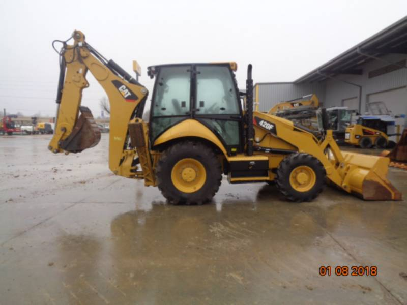 CATERPILLAR バックホーローダ 420FST equipment  photo 22