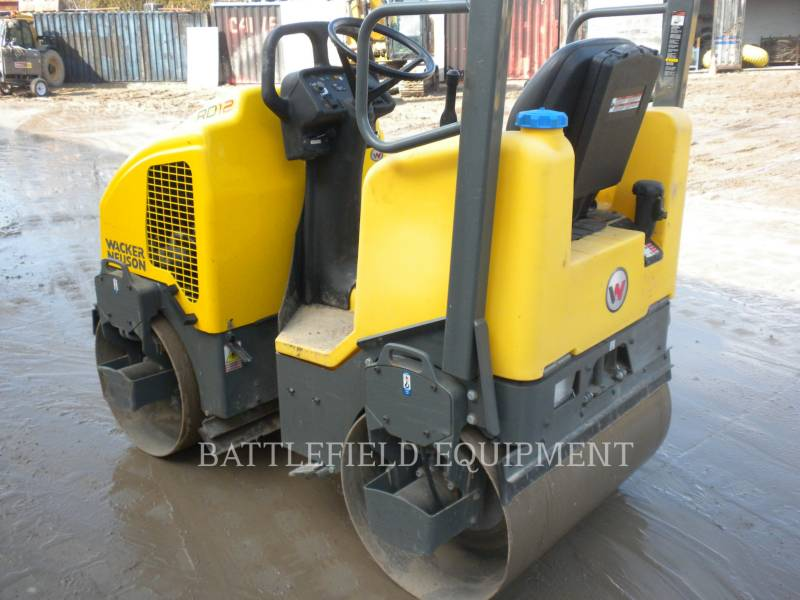 WACKER CORPORATION TANDEMOWY WALEC WIBRACYJNY DO ASFALTU (STAL-STAL) RD12A equipment  photo 3