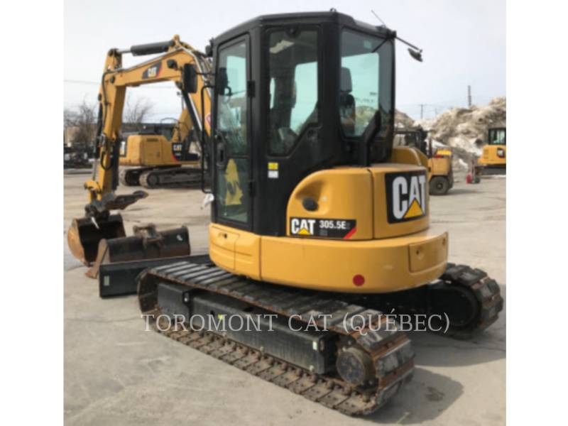 CATERPILLAR PELLES SUR CHAINES 305.5E2 CR equipment  photo 2