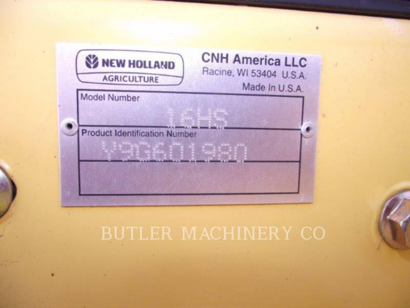 FORD / NEW HOLLAND AG HAY EQUIPMENT H7150 equipment  photo 9