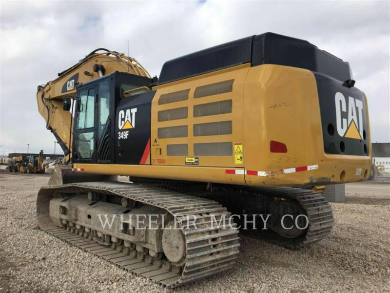 CATERPILLAR KOPARKI GĄSIENICOWE 349F L equipment  photo 3