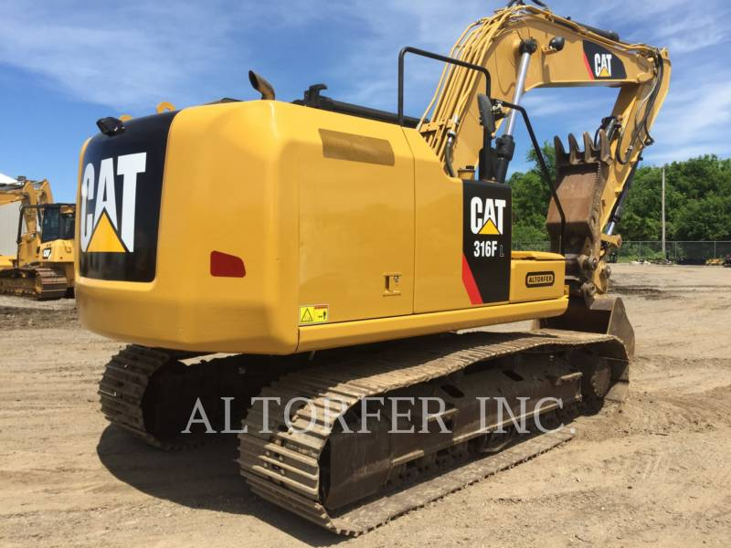 CATERPILLAR TRACK EXCAVATORS 316FL TH equipment  photo 3