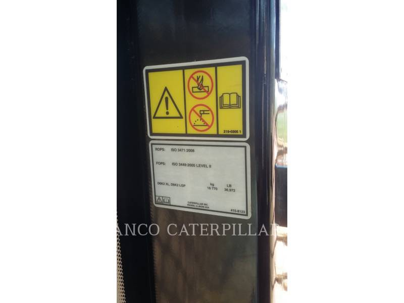 CATERPILLAR TRACTORES DE CADENAS D6K2 equipment  photo 6