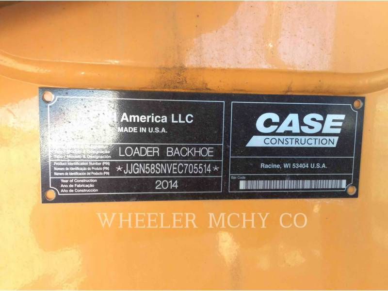 CASE BACKHOE LOADERS 580 SN equipment  photo 15