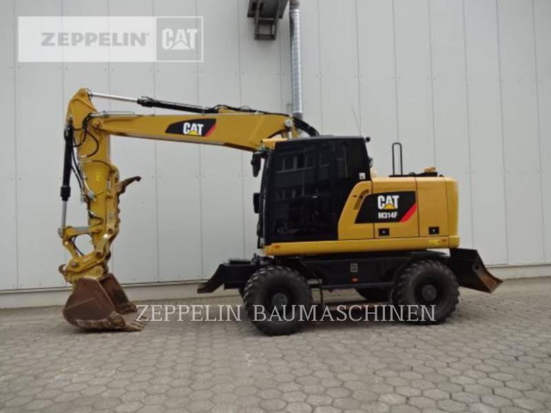 CATERPILLAR PELLES SUR PNEUS M314F equipment  photo 2