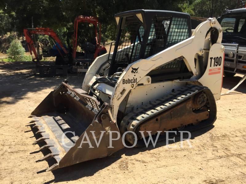 BOBCAT UNIWERSALNE ŁADOWARKI T190 equipment  photo 3