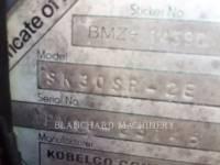 KOBELCO / KOBE STEEL LTD TRACK EXCAVATORS SK30SR-2E equipment  photo 6