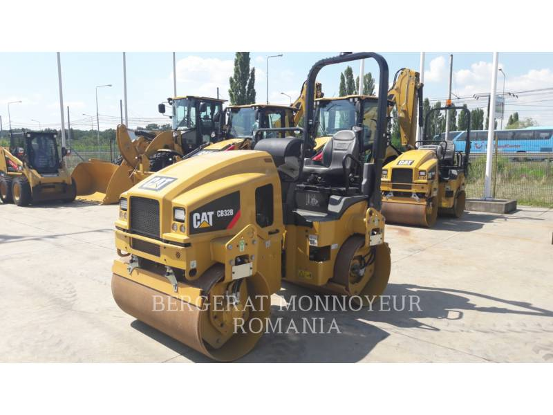 CATERPILLAR TANDEMOWY WALEC WIBRACYJNY DO ASFALTU (STAL-STAL) CB32BLRC equipment  photo 1