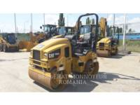 Equipment photo CATERPILLAR CB32BLRC ROLO COMPACTADOR DE ASFALTO DUPLO TANDEM 1