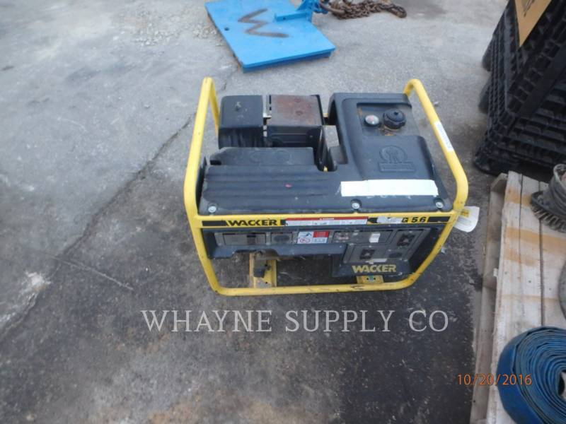 WACKER CORPORATION PORTABLE GENERATOR SETS G5.6A equipment  photo 2