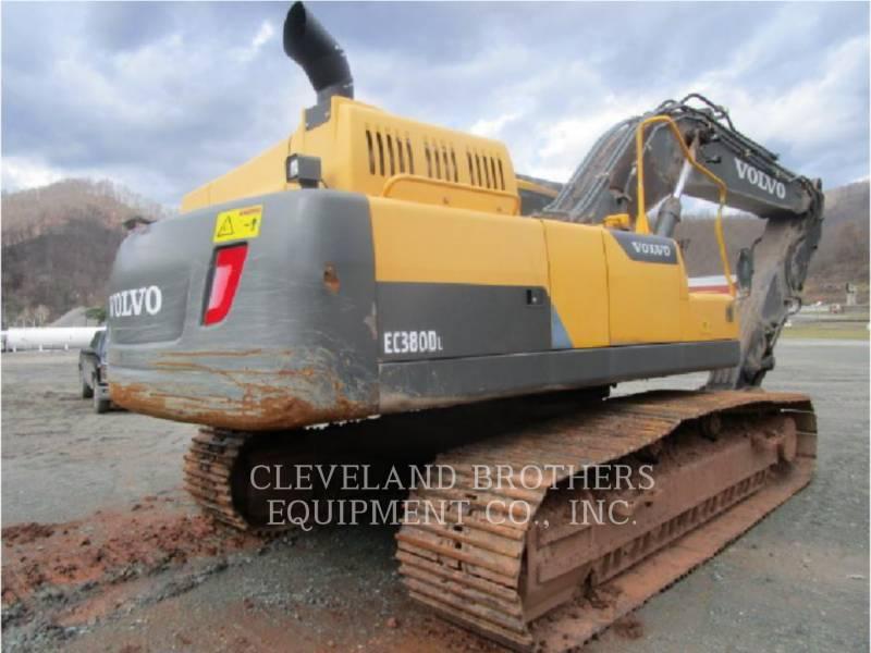 VOLVO CONSTRUCTION EQUIPMENT TRACK EXCAVATORS EC380DL equipment  photo 5