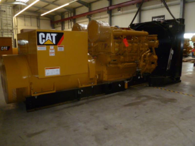 CATERPILLAR STATIONÄRE STROMAGGREGATE 3512B HV11KV equipment  photo 2