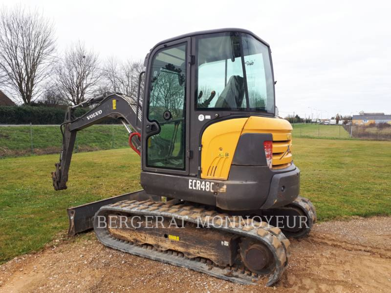 VOLVO CONSTRUCTION EQUIPMENT EXCAVADORAS DE CADENAS ECR48C equipment  photo 5