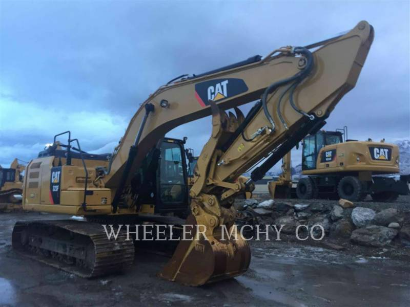 CATERPILLAR TRACK EXCAVATORS 323F L THM equipment  photo 1