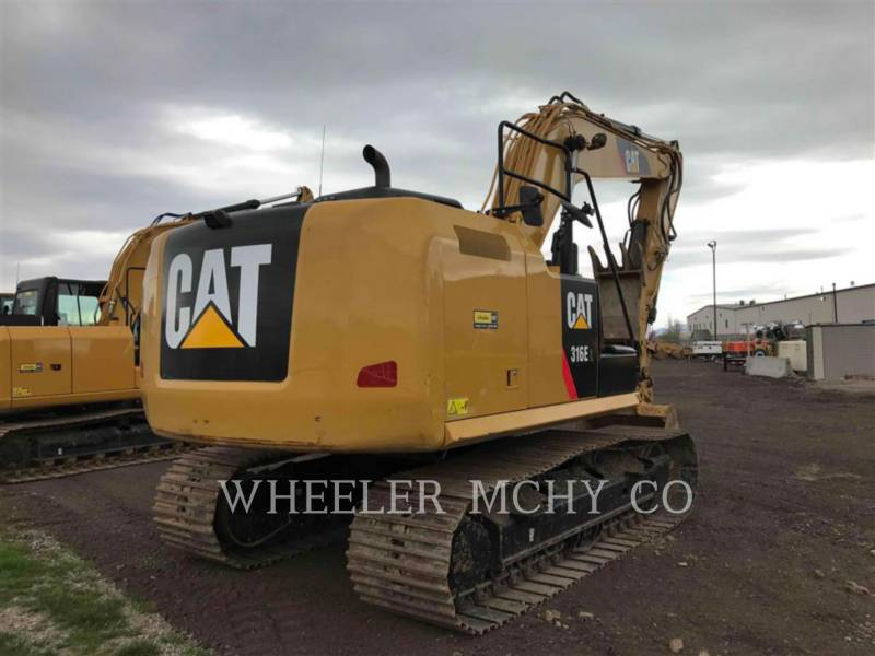 CATERPILLAR TRACK EXCAVATORS 316E L THM equipment  photo 3