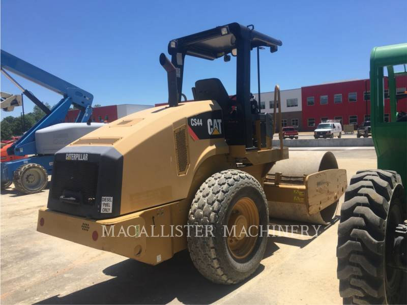 CATERPILLAR COMPATTATORE A SINGOLO TAMBURO VIBRANTE LISCIO CS44 equipment  photo 3