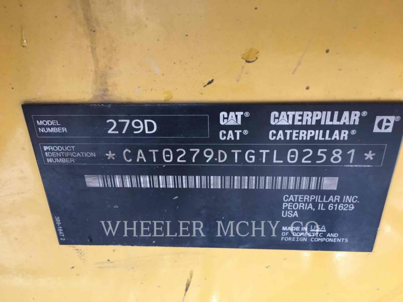 CATERPILLAR CHARGEURS TOUT TERRAIN 279D C3-H2 equipment  photo 3