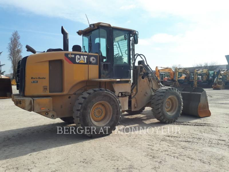 CATERPILLAR CARGADORES DE RUEDAS 924H equipment  photo 4