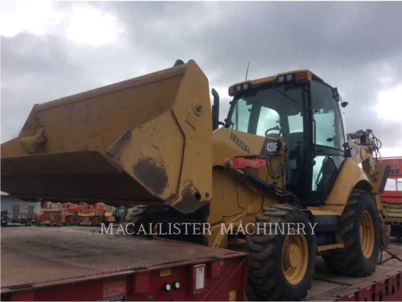 CATERPILLAR RETROEXCAVADORAS CARGADORAS 420 F equipment  photo 3