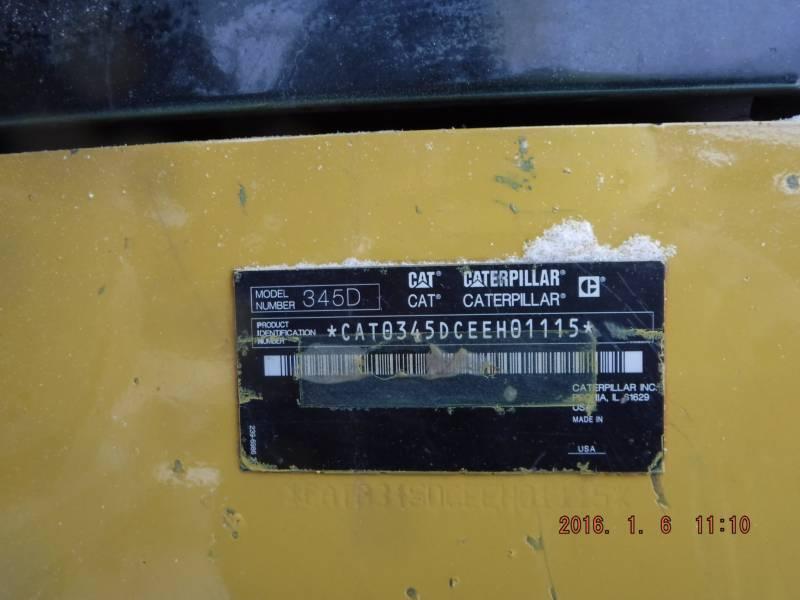 CATERPILLAR EXCAVADORAS DE CADENAS 345DL equipment  photo 7
