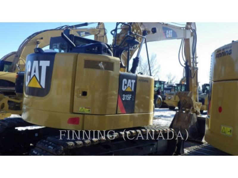 CATERPILLAR PELLES SUR CHAINES 315 F L equipment  photo 1