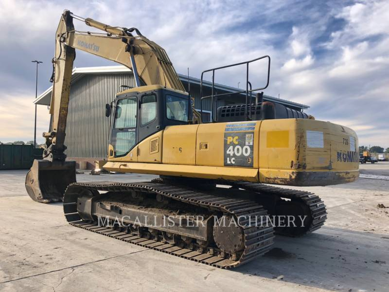 KOMATSU PELLES SUR CHAINES PC400LC-7L equipment  photo 1