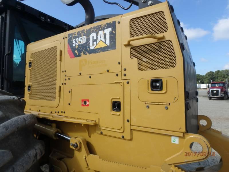 CATERPILLAR 林業 - スキッダ 535D equipment  photo 14