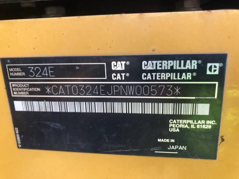 CATERPILLAR TRACK EXCAVATORS 324 E L equipment  photo 24