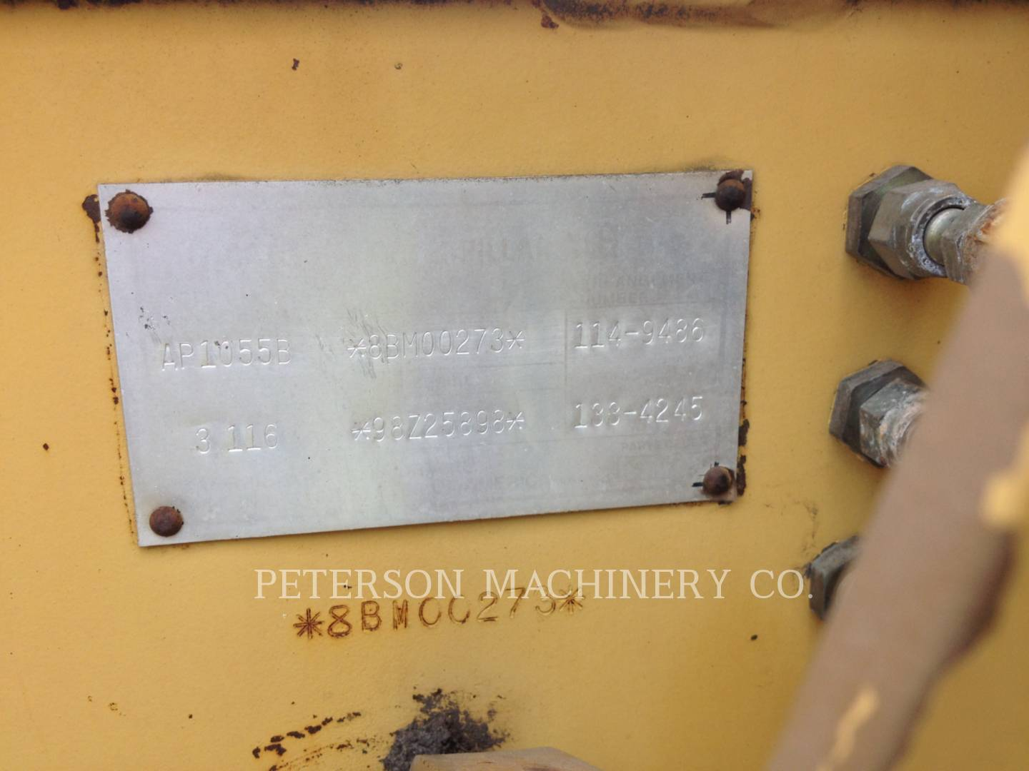 Detail photo of 1998 Caterpillar AP1055B from Construction Equipment Guide