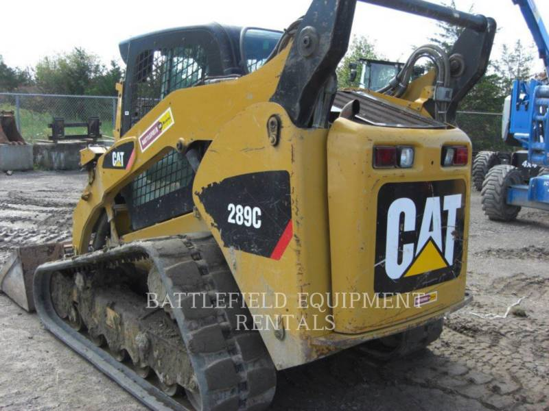 CATERPILLAR UNIWERSALNE ŁADOWARKI 289C equipment  photo 4