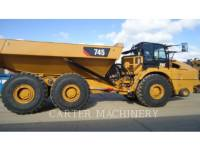 Equipment photo CATERPILLAR 745-04 ARTICULATED TRUCKS 1