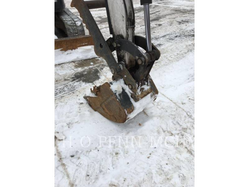 BOBCAT PELLE MINIERE EN BUTTE E45 equipment  photo 12