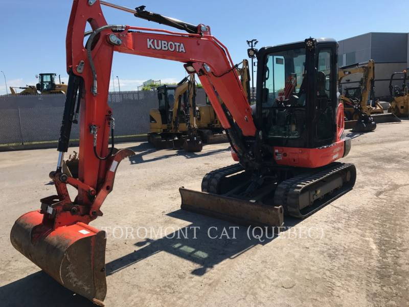 KUBOTA CANADA LTD. PELLES SUR CHAINES KX040 equipment  photo 1