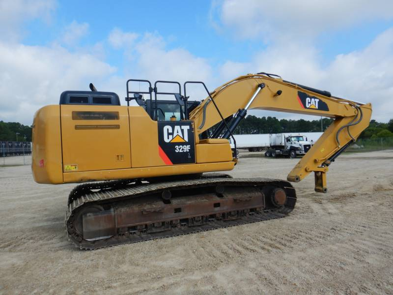 CATERPILLAR TRACK EXCAVATORS 329 F L equipment  photo 1